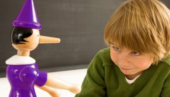 Las mentiras de los niños