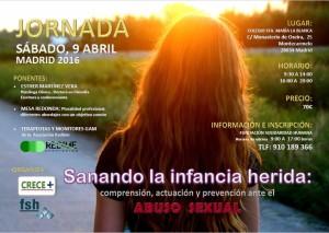Jornada Abuso sexual- 9 Abril
