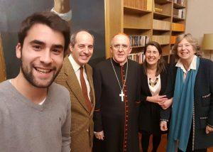 Compartiendo con Cardenal D. Carlos Osoro